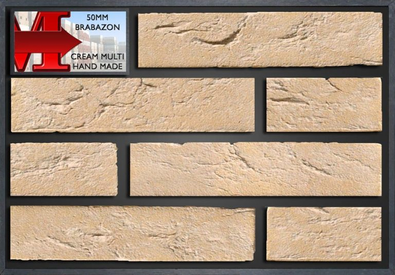 50Mm Brabazon Cream Multi Handmade - Showroom Panel