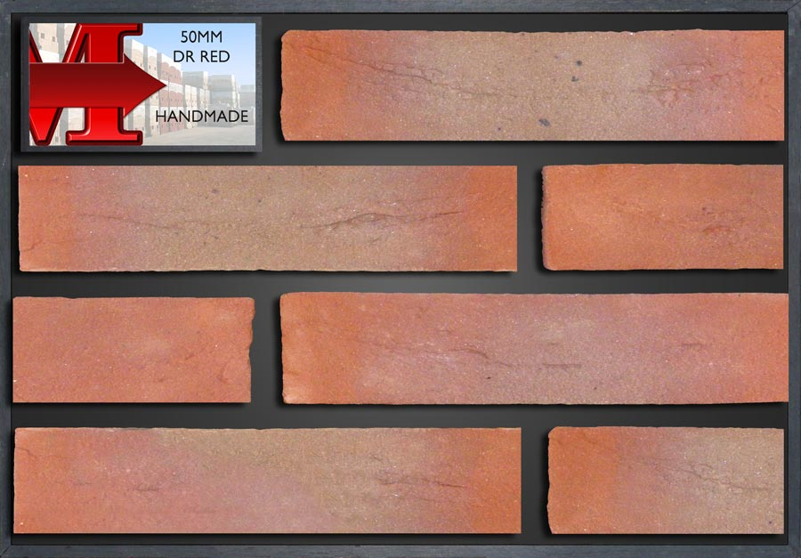 50Mm Dr Red Handmade - Showroom Panel