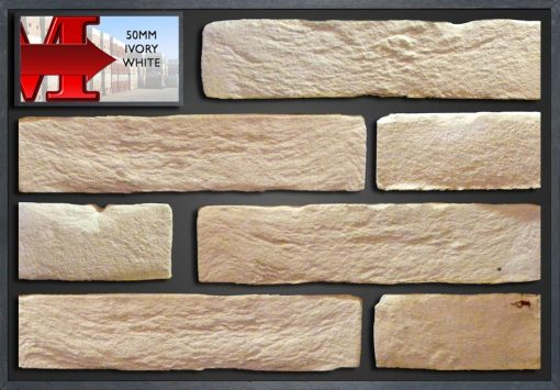 50Mm Ivory White - Showroom Panel
