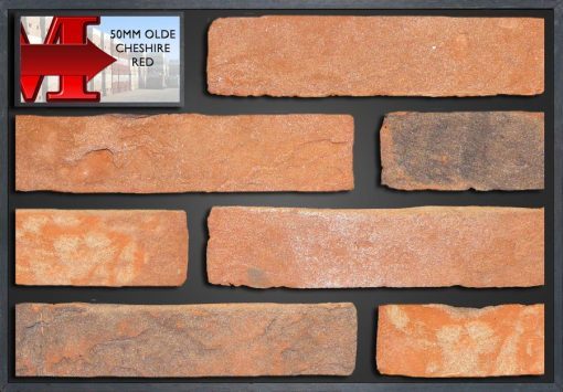 50Mm Olde Cheshire Red - Showroom Panel
