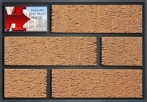 Anglian Buff Multi Rustic - Showroom Panel