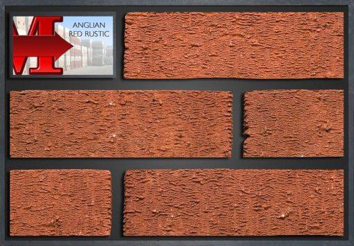 Anglian Red Rustic - Showroom Panel