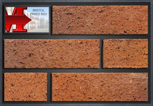 Bristol Mixed Red - Showroom Panel