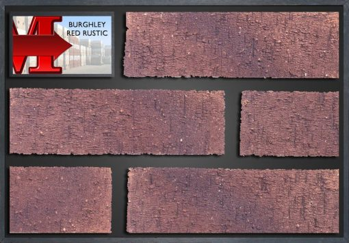 Burghley Red Rustic - Showroom Panel
