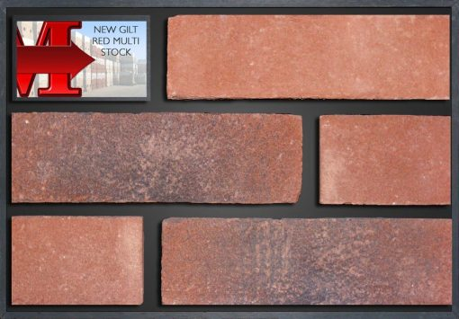 New Gilt Red Multi Stock - Showroom Panel