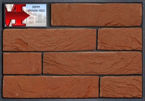 50mm SPANISH RED - Showroom panel