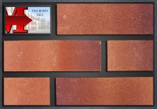 Mulberry Red - showroom panel