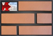 Staffordshire Smooth Red - showroom panel